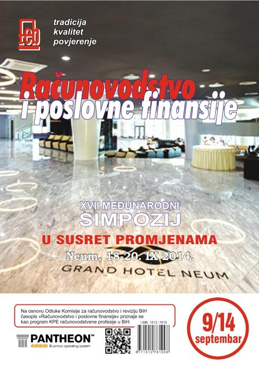 Časopis septembar 2014