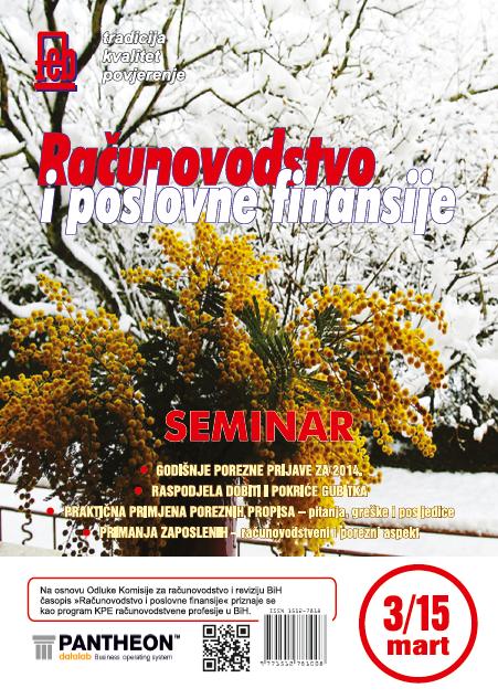 Časopis mart 2015