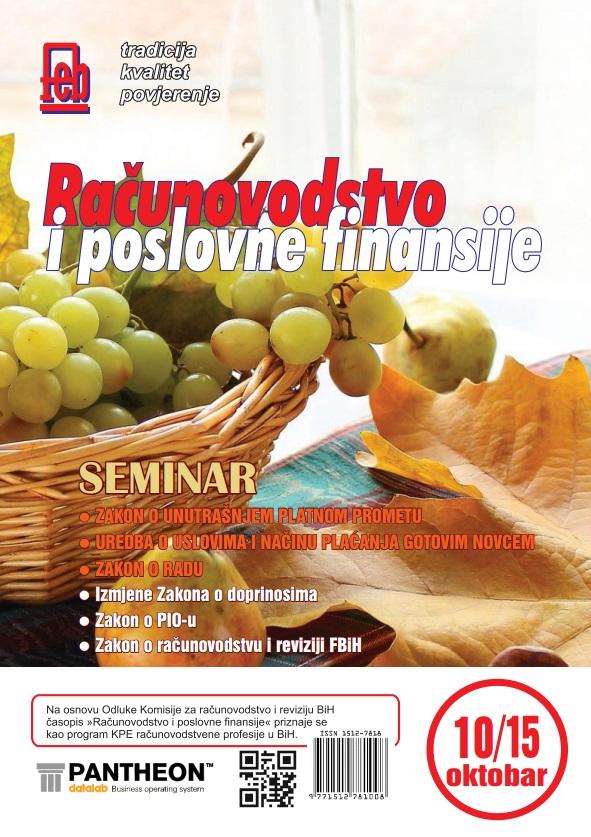 Časopis oktobar 2015