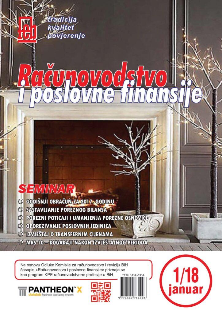 Časopis Januar 2018